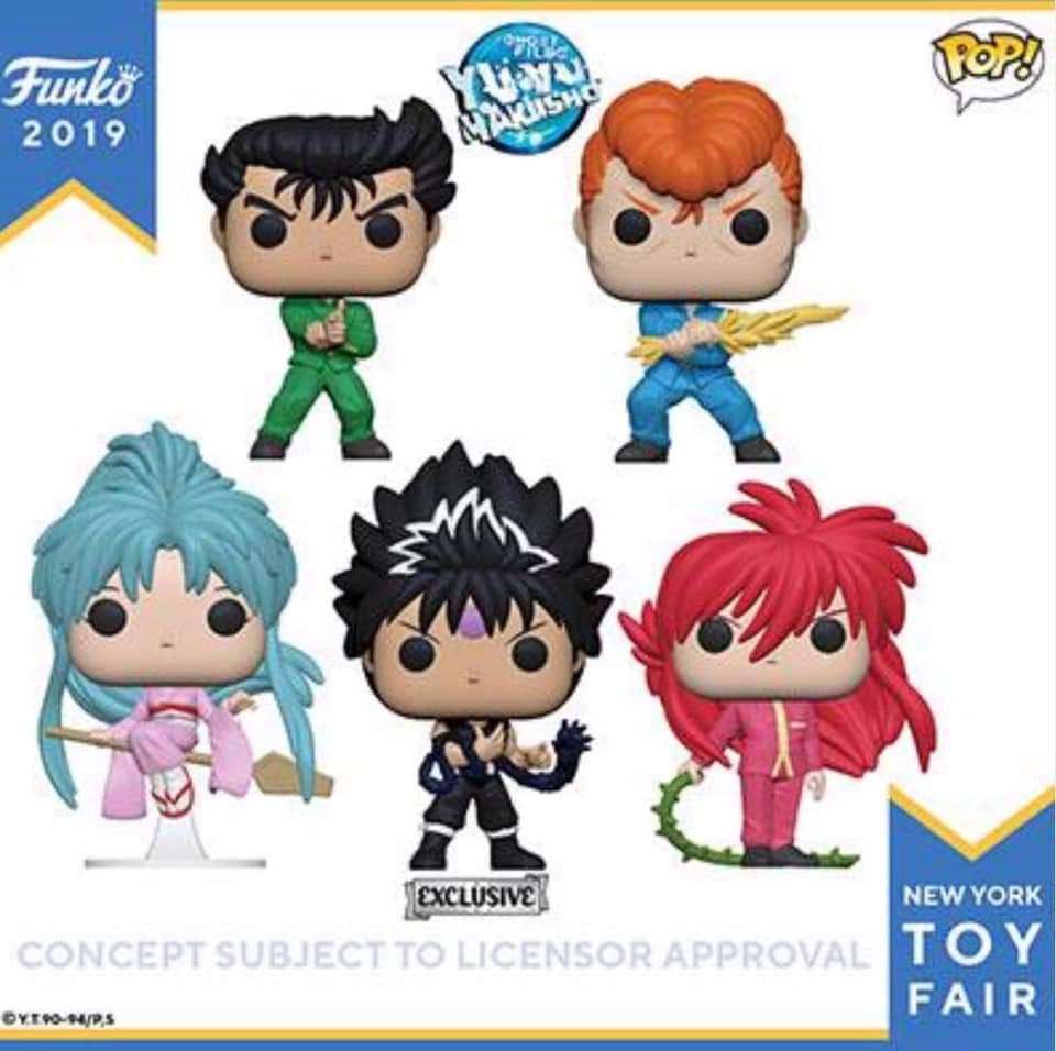 Walang Gentle Gentle with these Yu Yu Hakusho Funko Pops