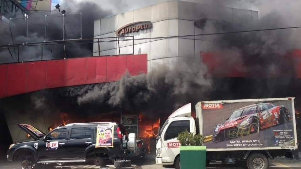 Here's a Look at the Aftermath of the Autoplus EDSA Fire