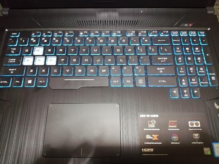 tuf gaming fx705g keyboard