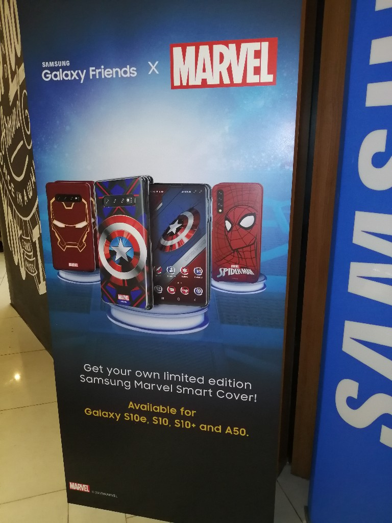 Samsung Galaxy Friends x Marvel Covers Launched Alongside