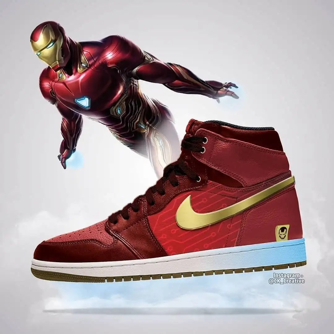 Avengers: Endgame Air Jordans Designs