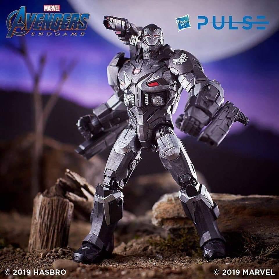 Marvel legends avengers endgame wave 2 war machine mk 6