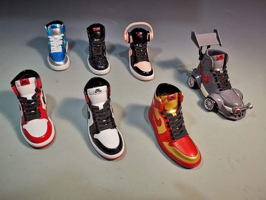 When Gunpla Ties up with Nike and its Air Jordan Shoes