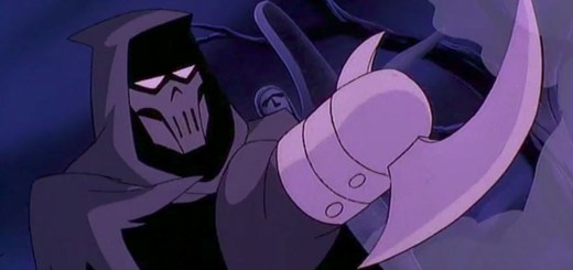 Phantasm from Batman mask of phantasm
