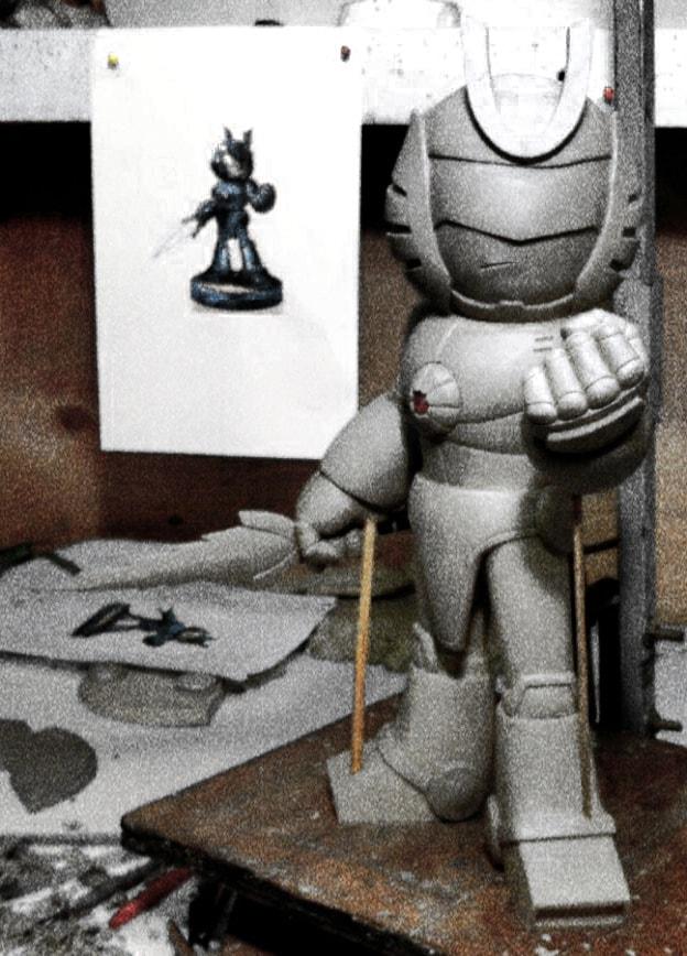 Halimaw Sculptures combatron