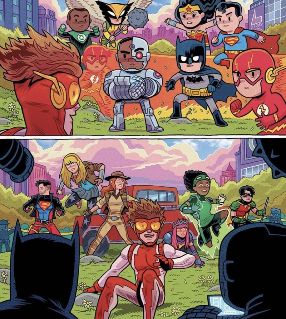 justice league earth 42 and young justice