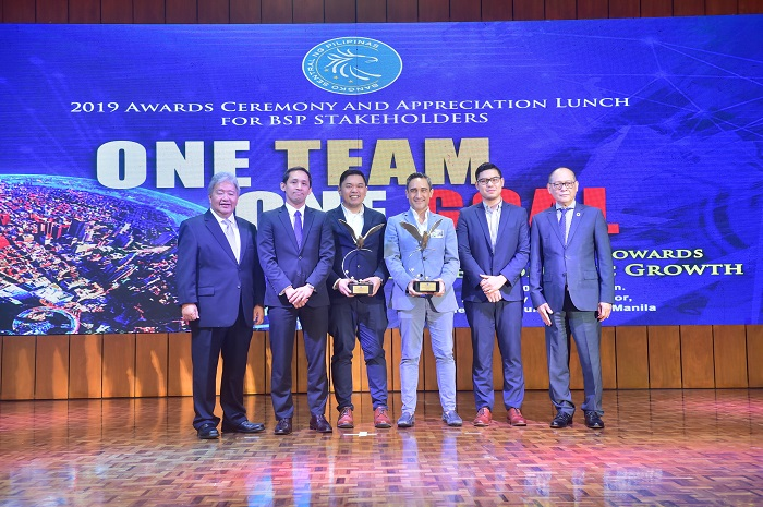 GCash bags BSP awards for digital transformation and innovative