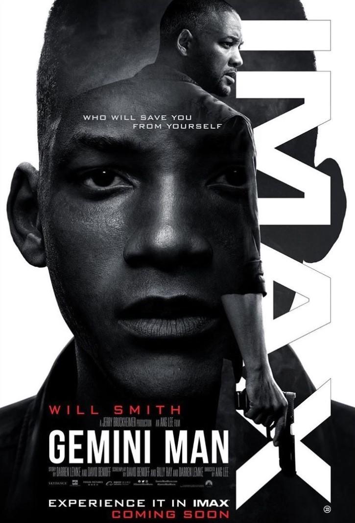 Gemini Man IMAX poster