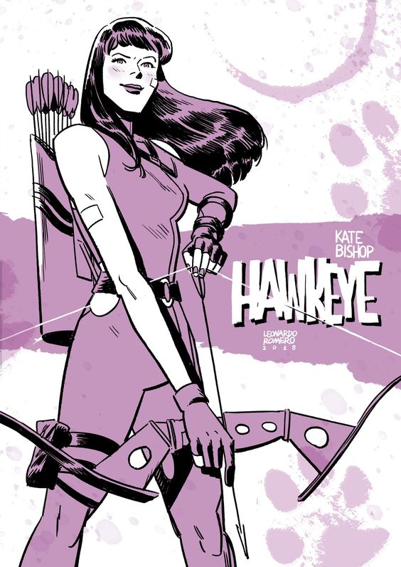 kate bishop art