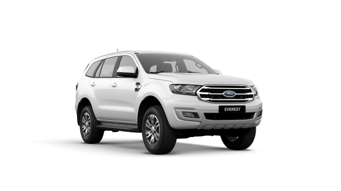 Ford Everest Trend Arctic White