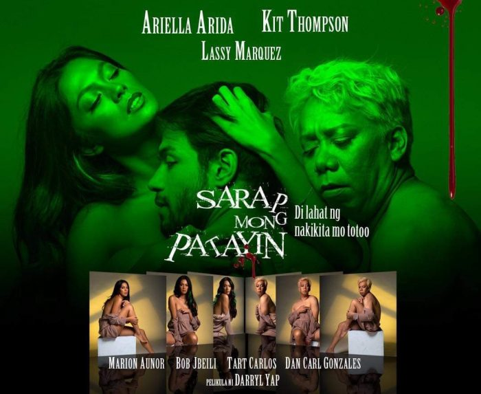Kit Thompson, Ariella Arida & Lassy Marquez Star In SARAP MONG PATAYIN  available on Vivamax by Oct 15 - The Fanboy SEO