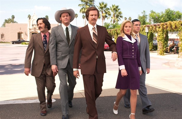 Christina Applegate,David Koechner,Paul Rudd,Steve Carell,Will Ferrell