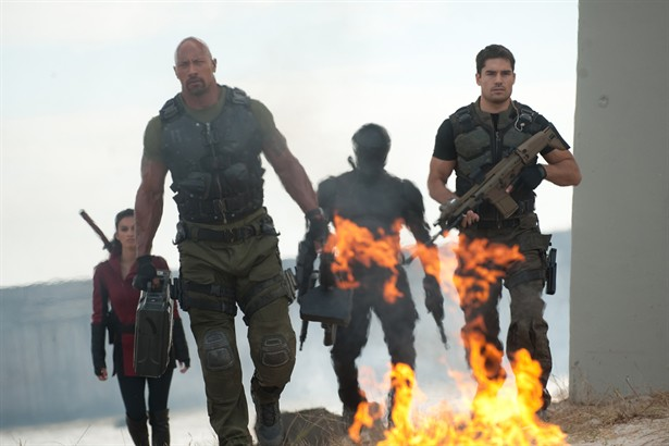 "D.J. Cotrona,Dwayne ""The Rock"" Johnson,Elodie Yung,Ray Park"