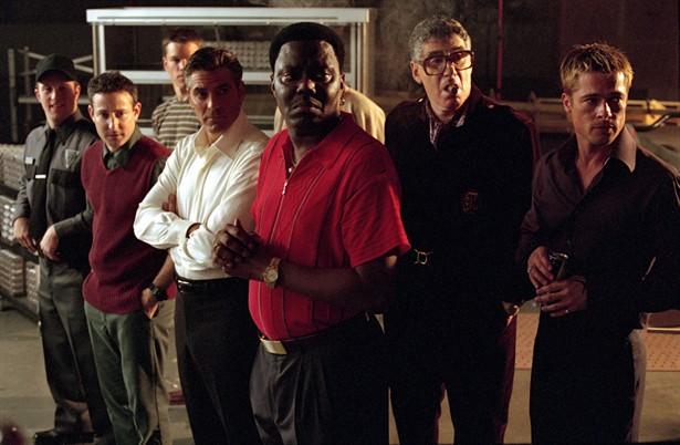 Brad Pitt,Elliott Gould,George Clooney,Matt Damon,Scott Caan