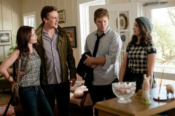 Alison Brie,Chris Pratt,Emily Blunt,Jason Segel