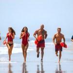 Kelly Rohrbach, Zac Efron, Alexandra Daddario, Dwayne 'The Rock' Johnson