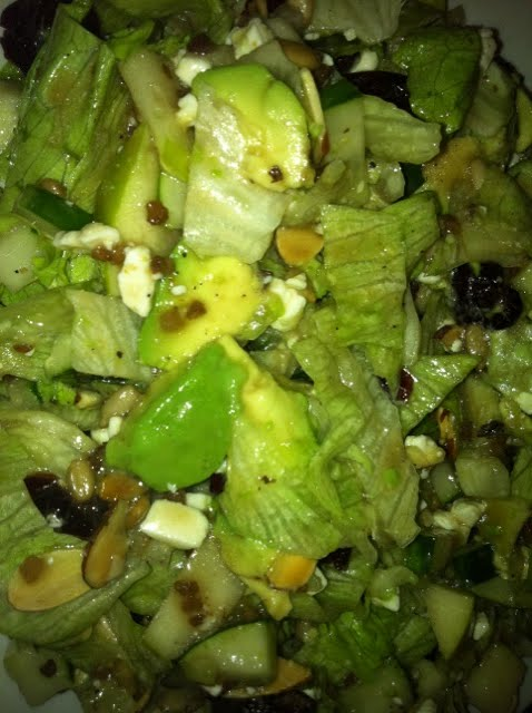 Chopped salad success!