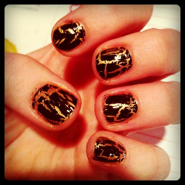 Nail of the day: Cheetah