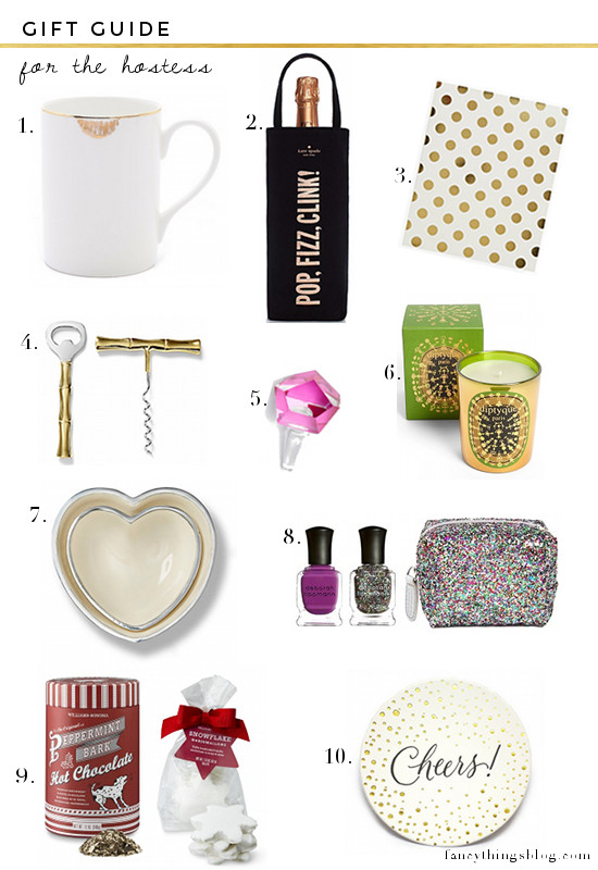 GIFT GUIDE: FOR THE HOSTESS