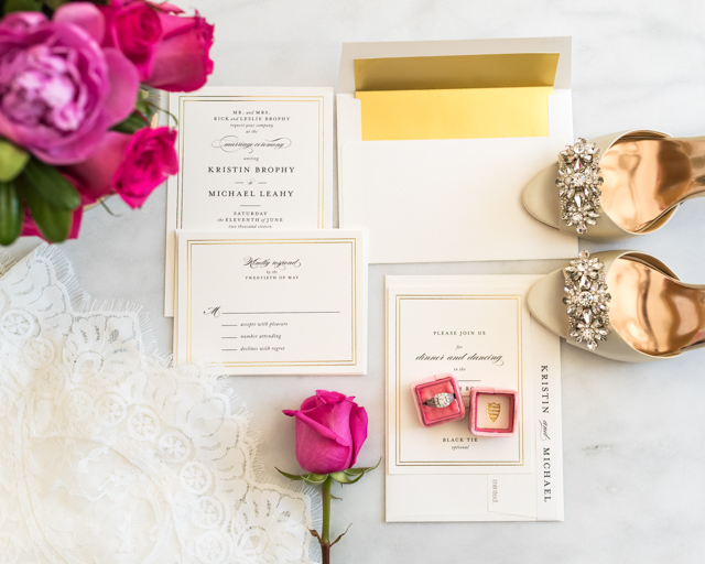 Minted Gold Foil Wedding Invitations