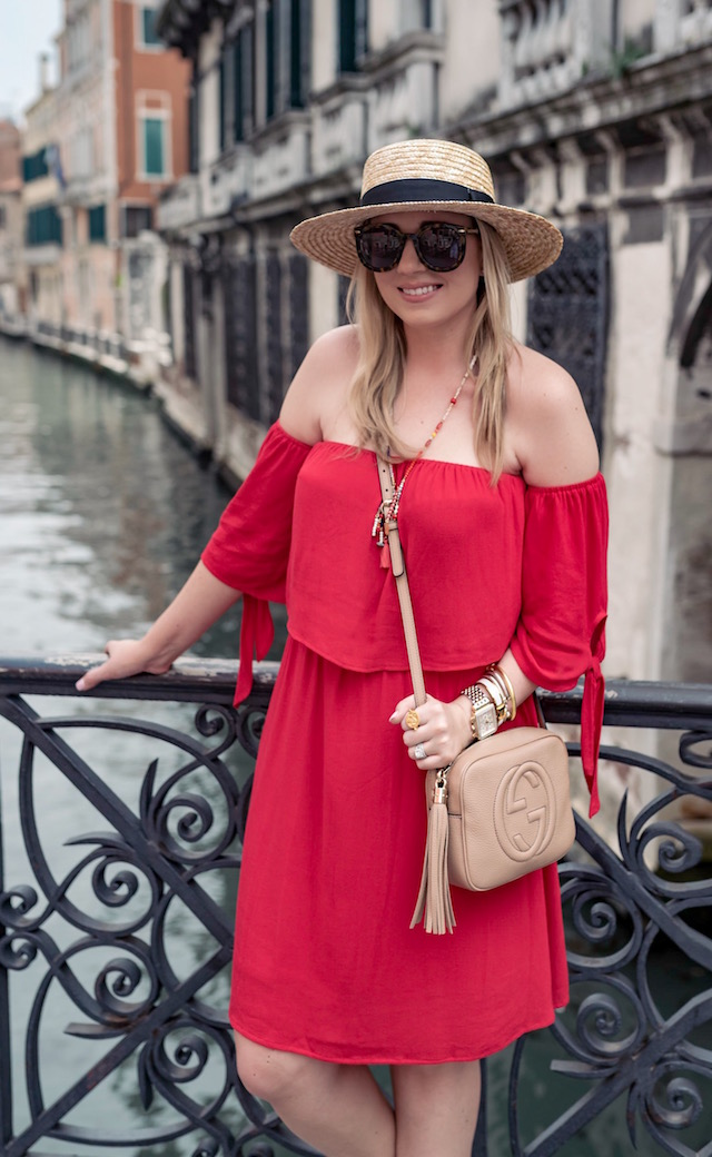 dee elle Off the Shoulder Dress