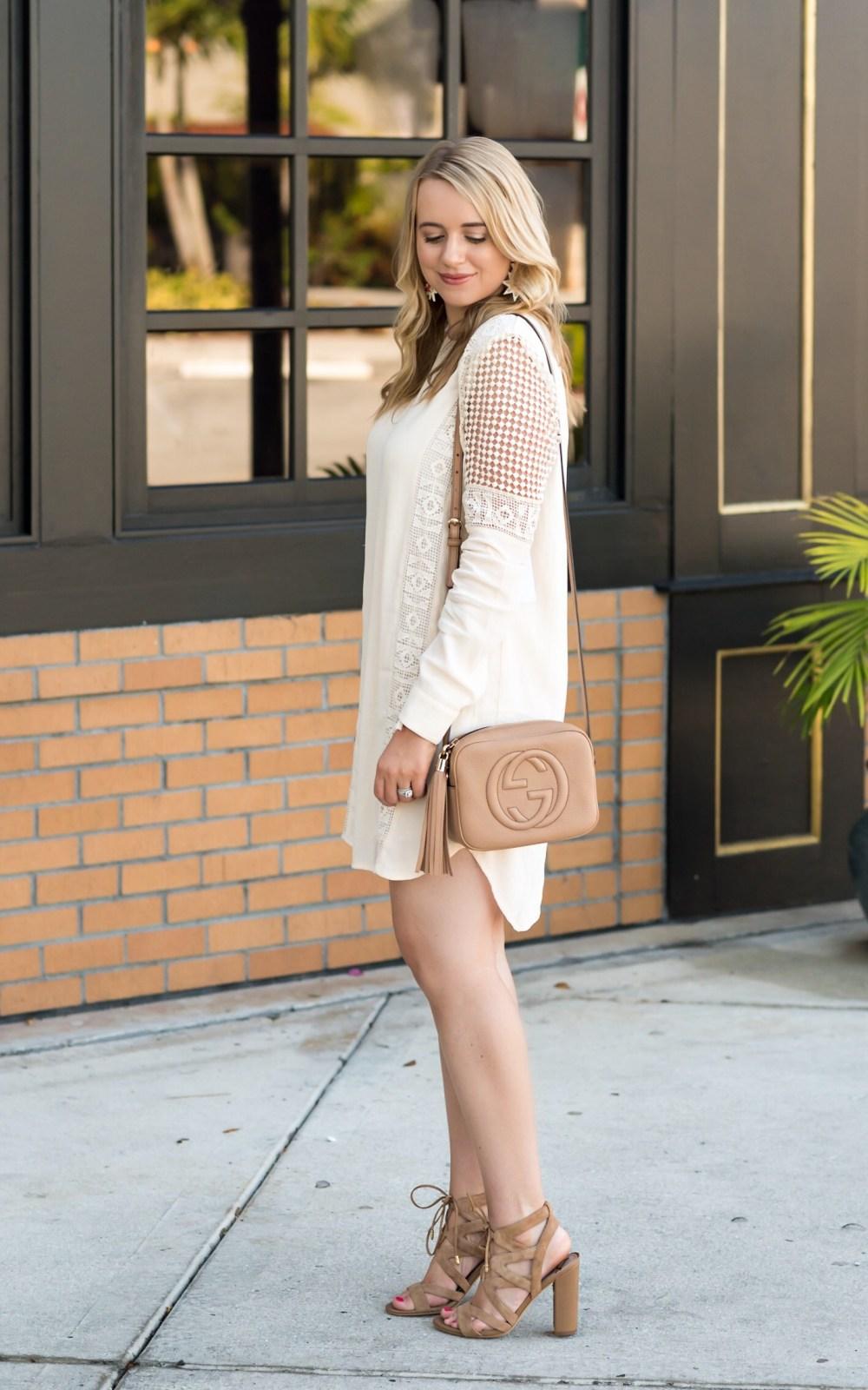 ASTR Little White Dress Fancy Things