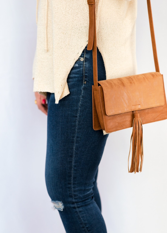 BP Tassel Faux Leather Crossbody Bag Fancy Things Nordstrom