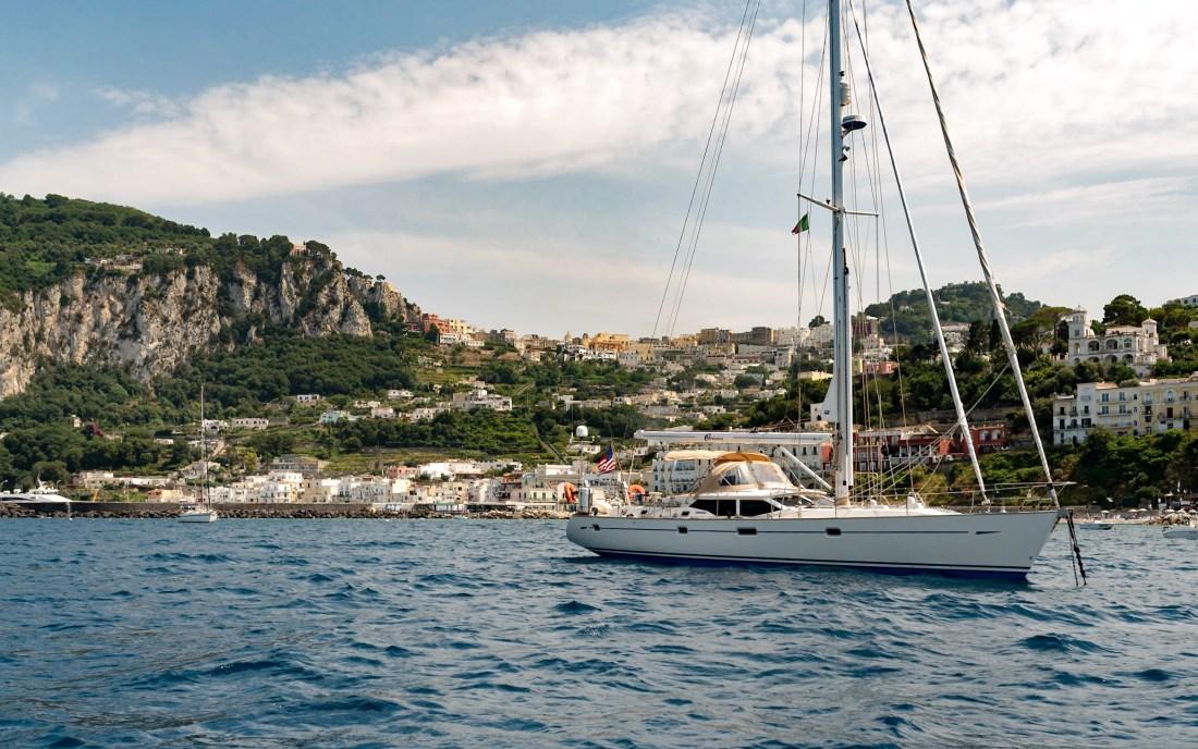Capri Italy Sailboats Honeymoon Fancy Things