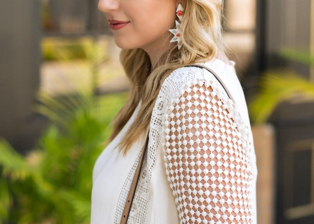 Crochet Detailing ASTR Dress Fancy Things