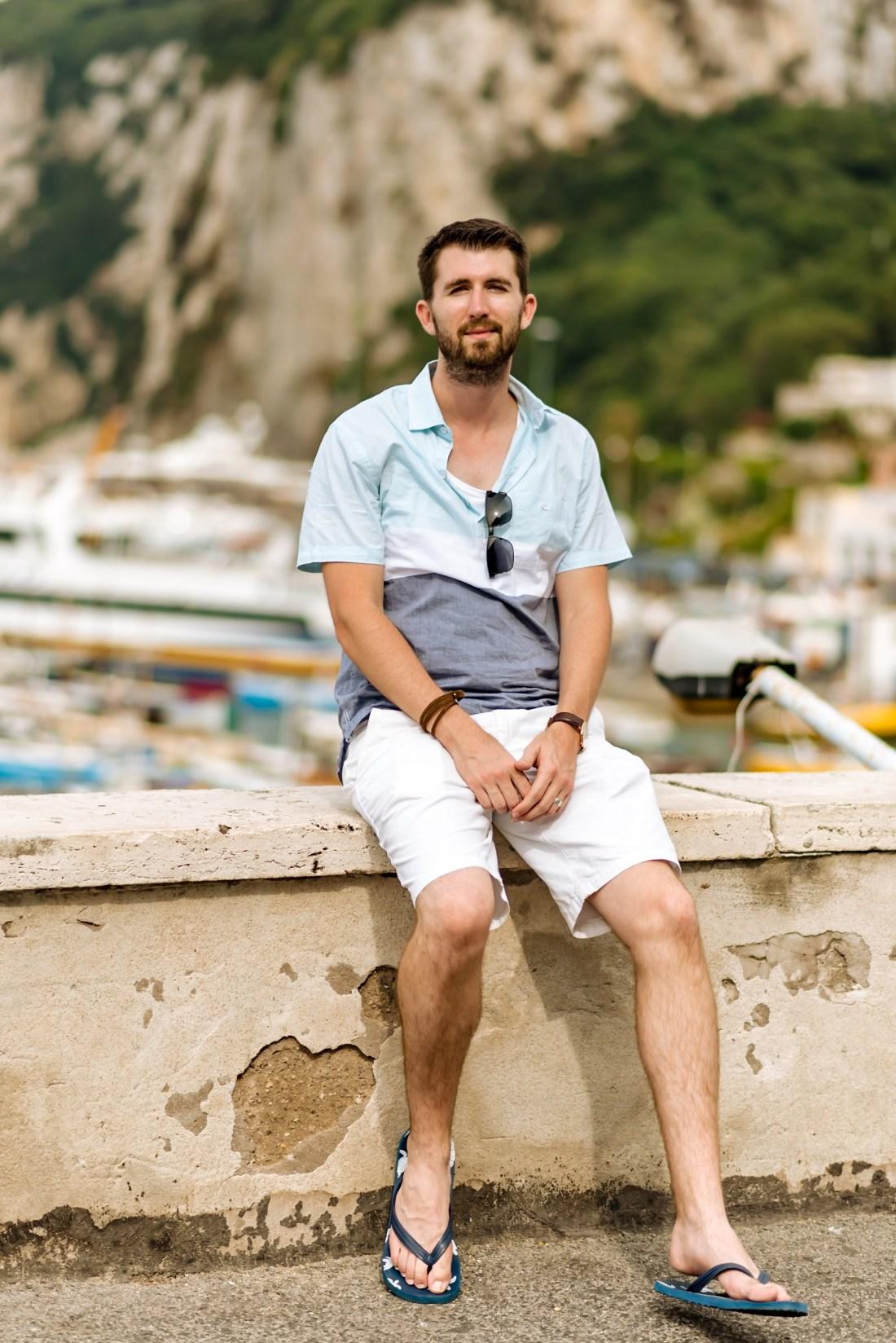 Express Fashion for Men Capri Italy Fancy Things Honeymoon