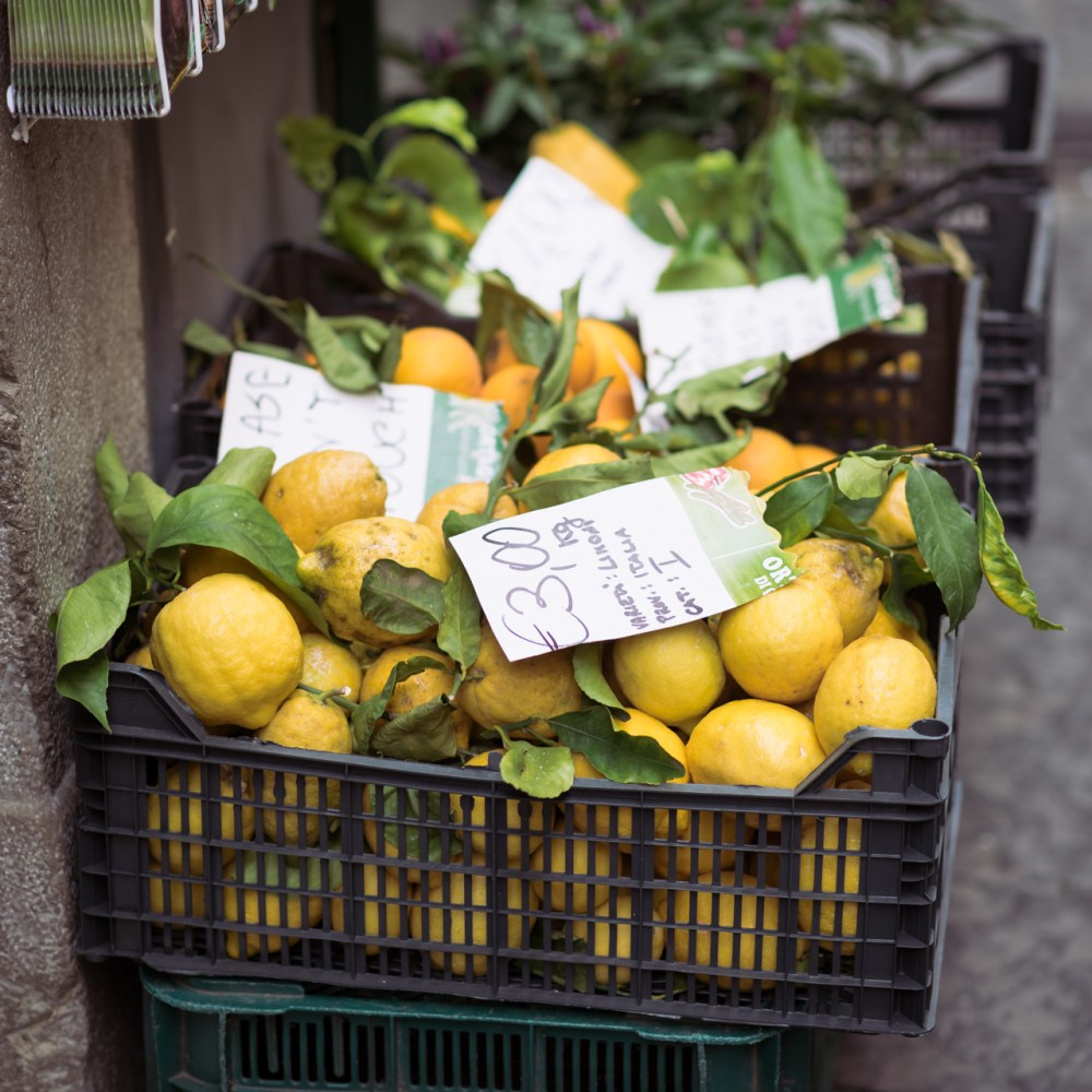 Lemons Amalfi Italy Fancy Things