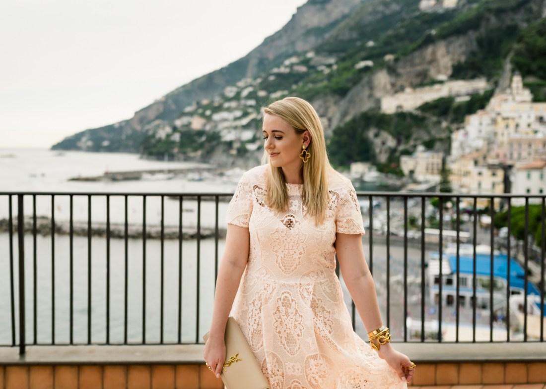 River Island ASOS Premium Lace Detail Midi Dress Fancy Things