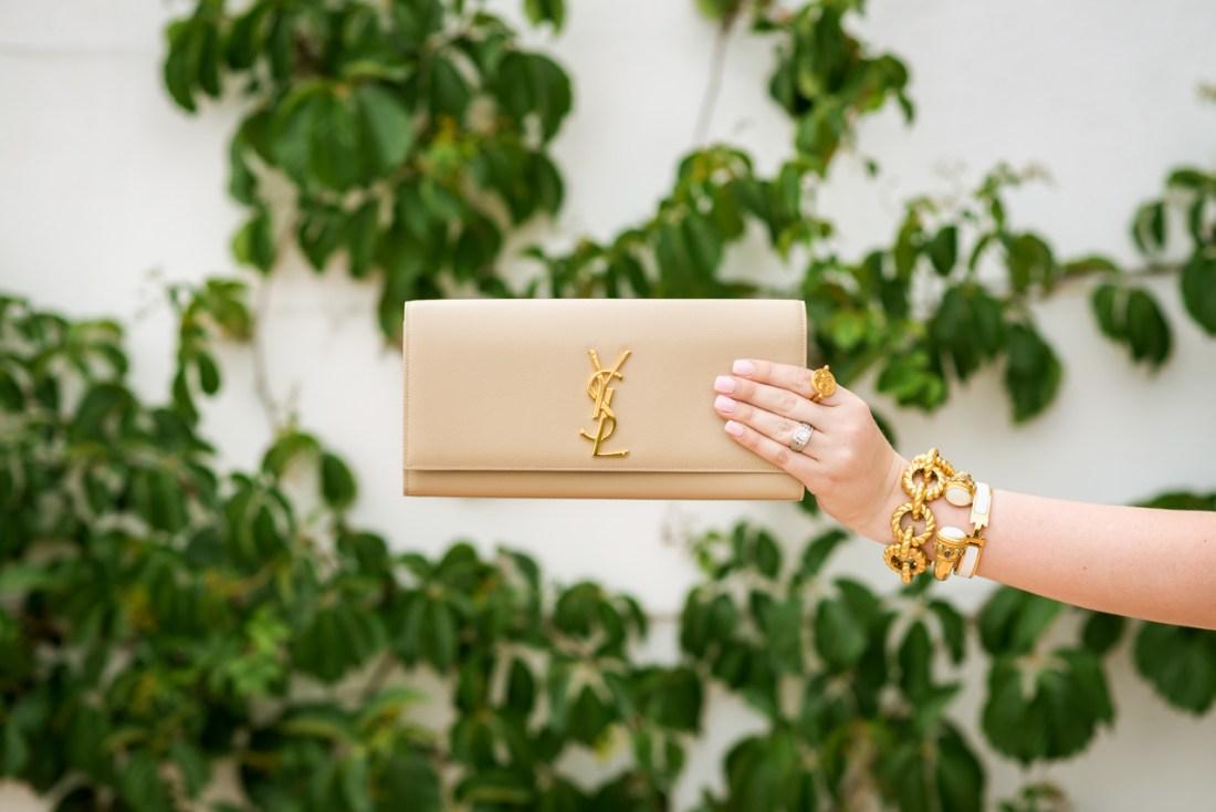 YSL Clutch Beige Fancy Things Handbag