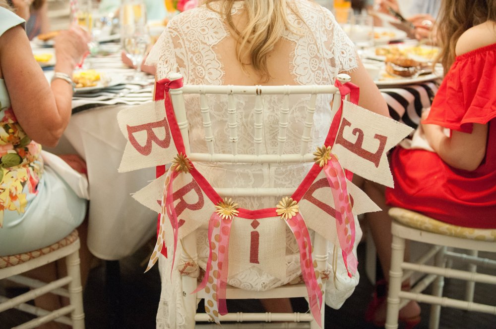 Bridal Shower Chair Decorations for Bride Fancy Things