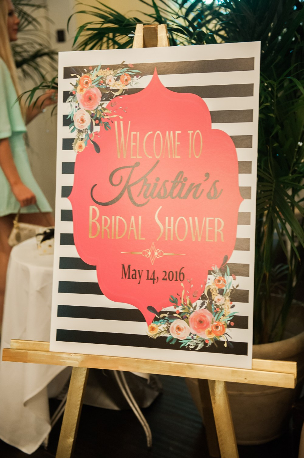 Cute Bridal Welcome Sign Fancy Things Kate Spade
