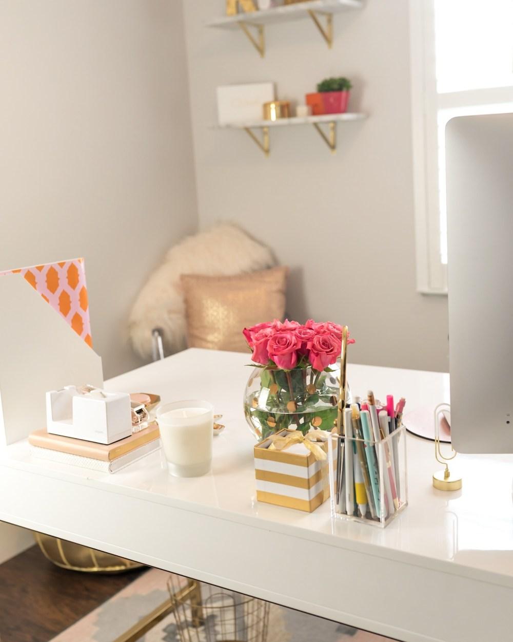 Fancy Things Blog Office
