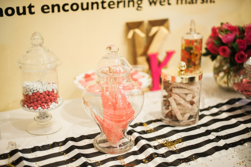Fancy Things Bridal Shower Dessert Bar