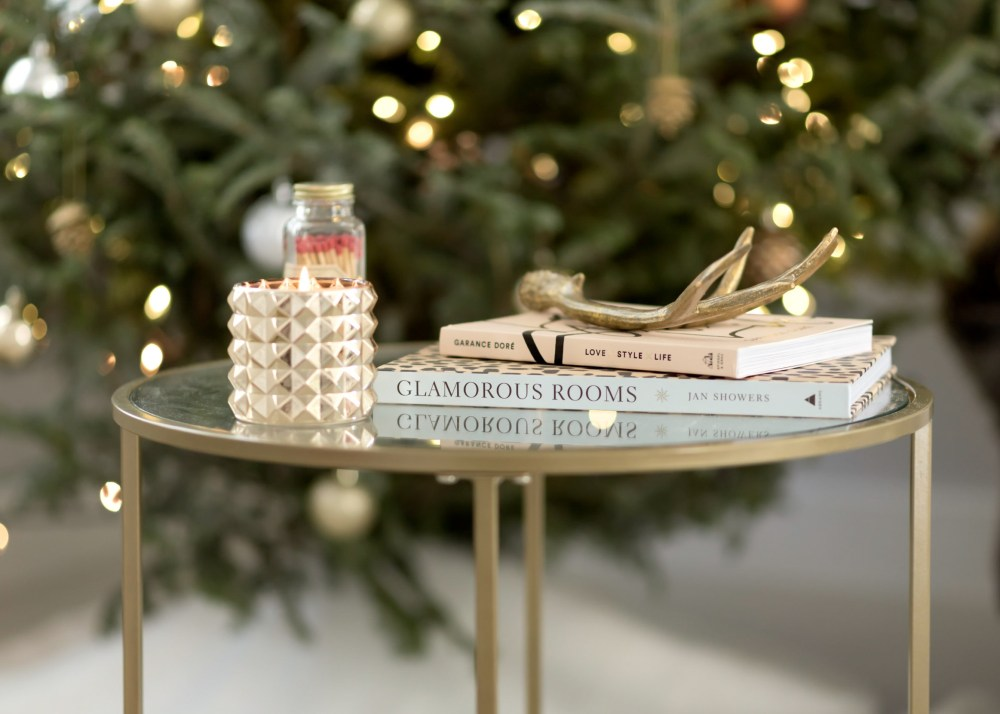 gold-round-side-table-under-100-fancy-things-holiday-home-tour
