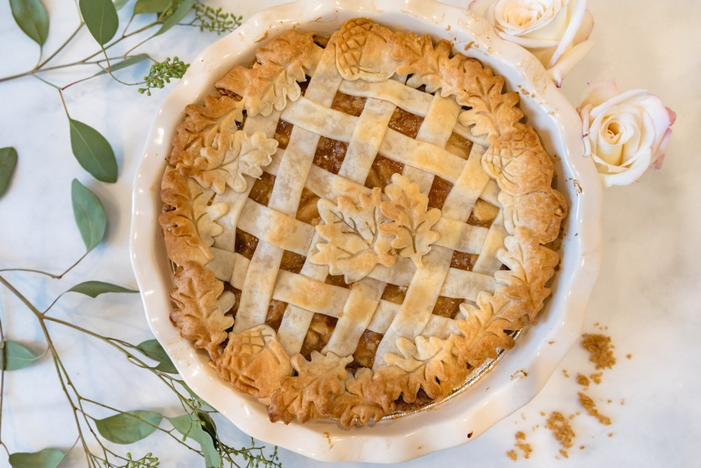 Pretty Apple Pie Crust For Thanksgiving Dinner Fancy Things