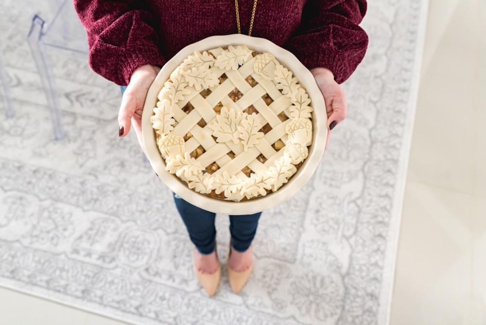 Thanksgiving Apple Pie Crust Leaves Fancy Things