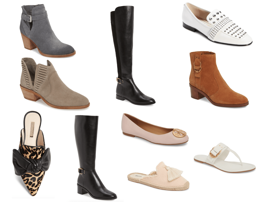 2c68d31fa3ad ... Vince Camuto Pevista Bootie, Tory Burch Marsden Over The Knee Boots,  Tory Burch Marsden Bootie, Sam Edelman Chesney Loafer, Louise Et Cie Leopard  Mules, ...