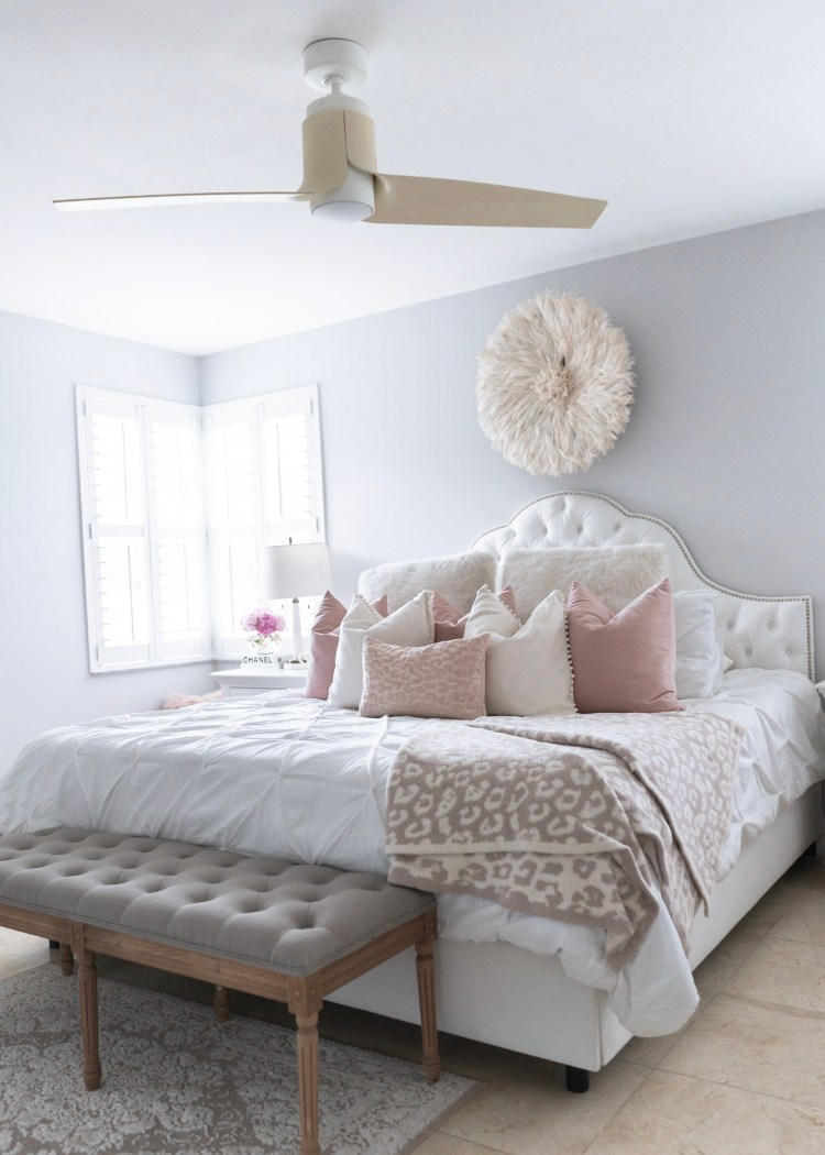 Bedroom Update With Casablanca Fan Company