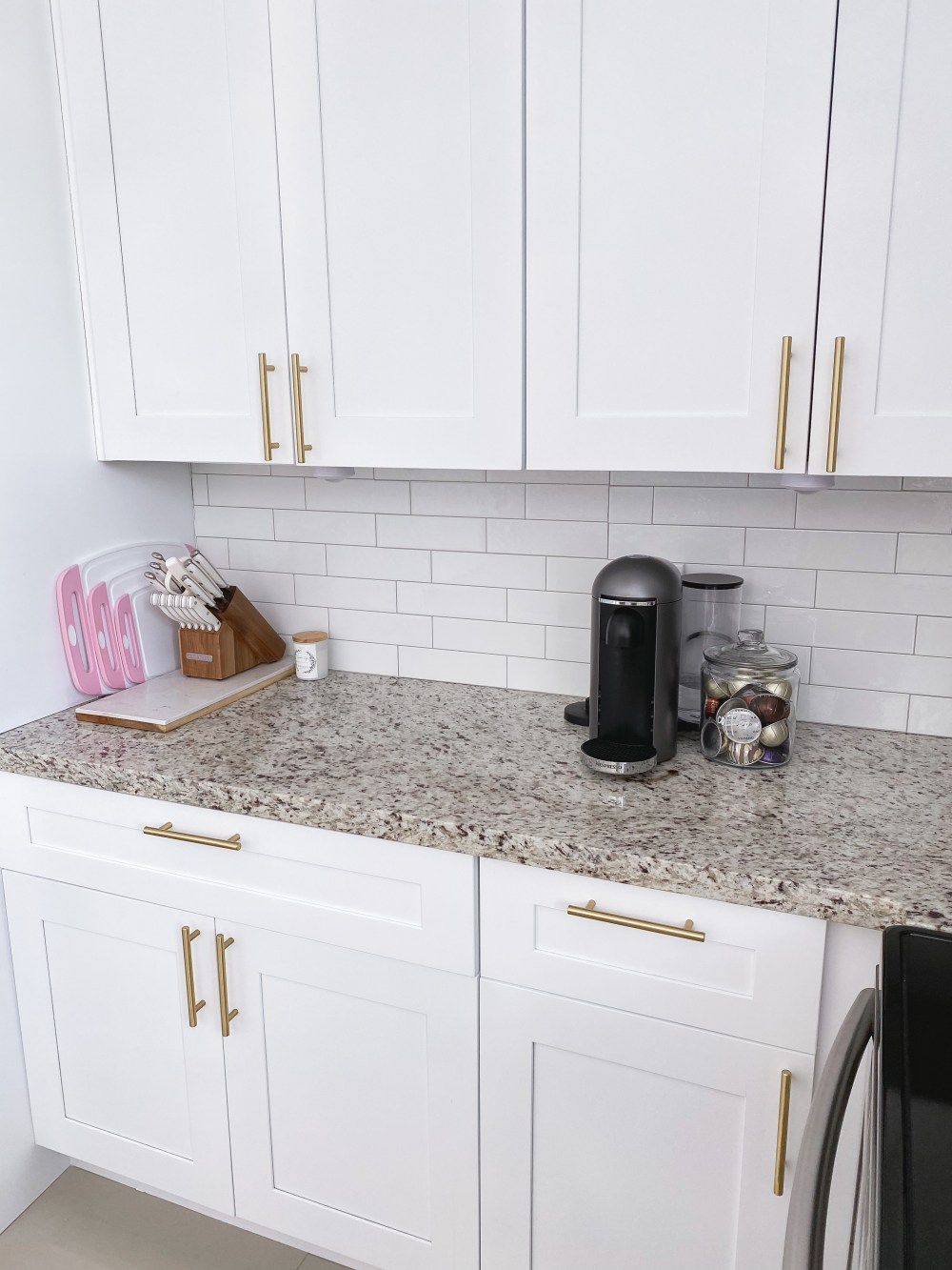 Peel and Stick Subway Tile Backsplash