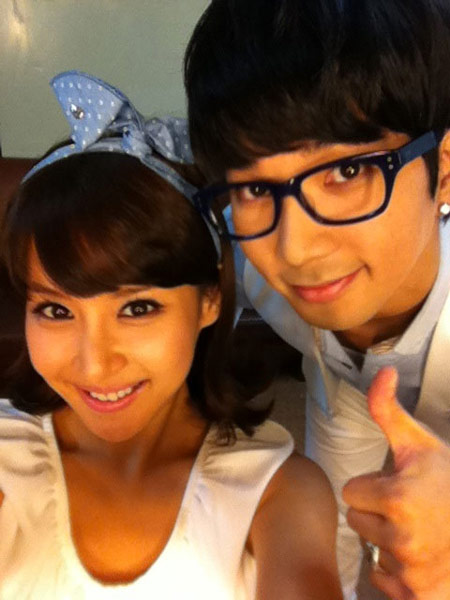 G.O and Jo Yeo Jung