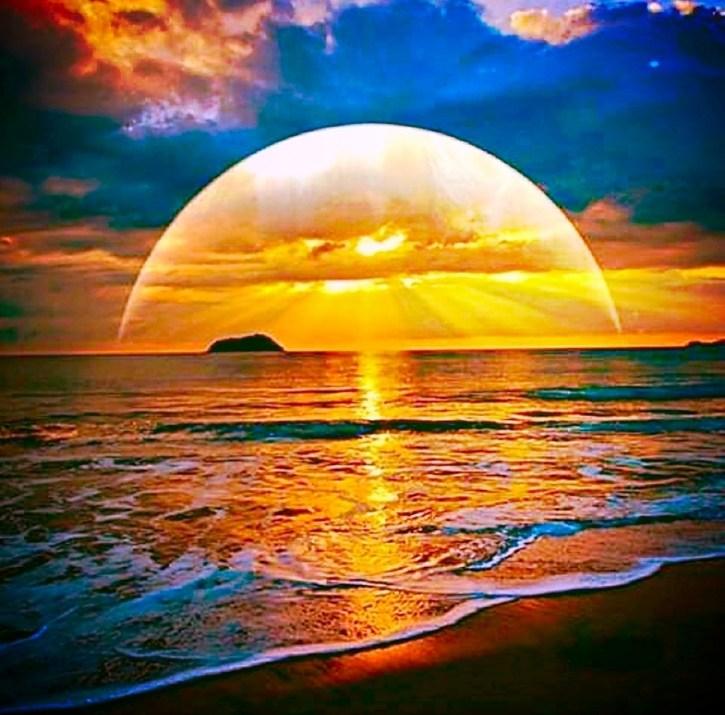 Afterglow-island