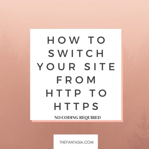 How to Switch Your Site from HTTP to HTTPS and Protect your Google Ranking