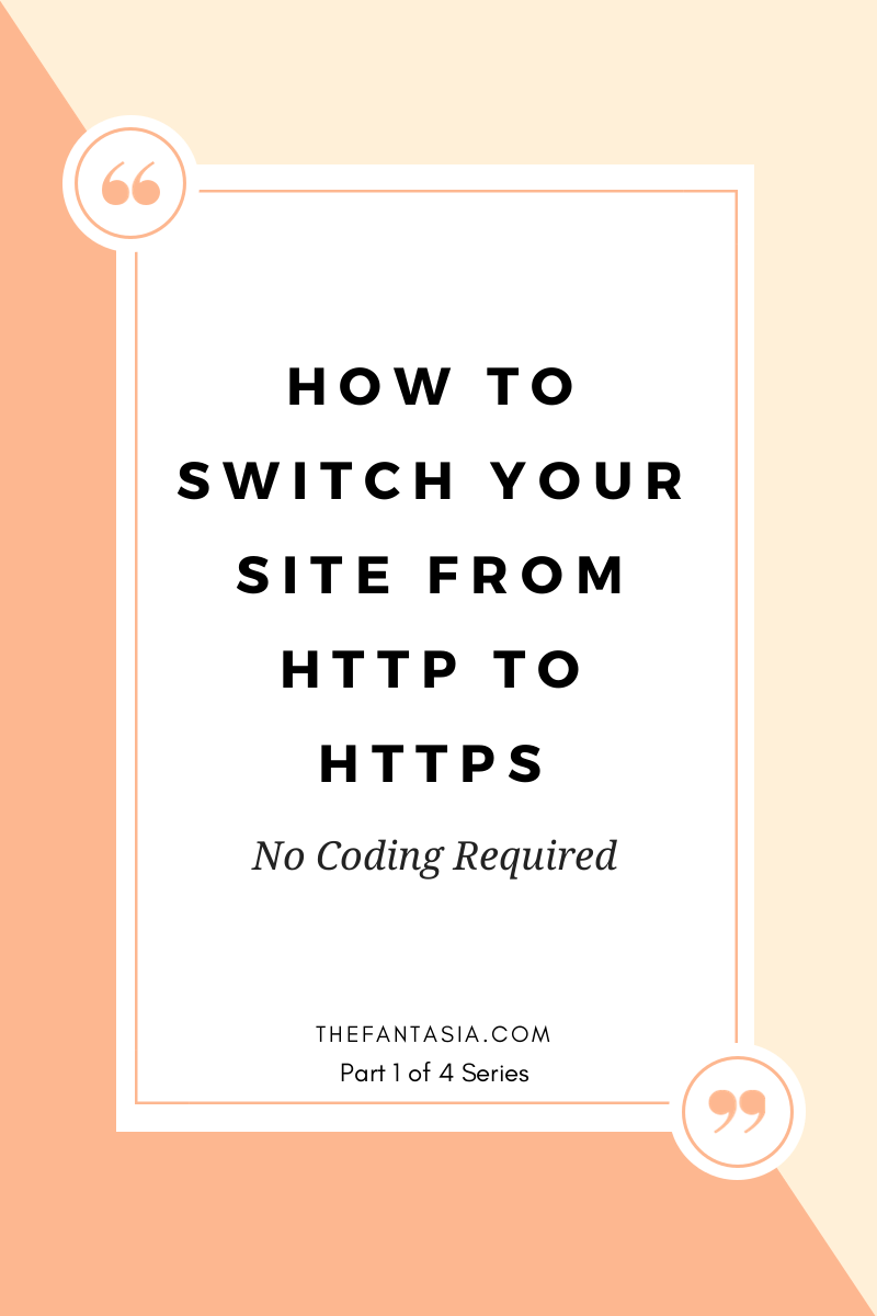 How to Switch Your Site from HTTP to HTTPS (No Coding Required)