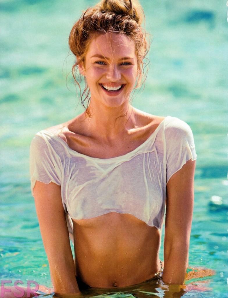 Candice Swanepoel Naked for Maxim Magazine 06