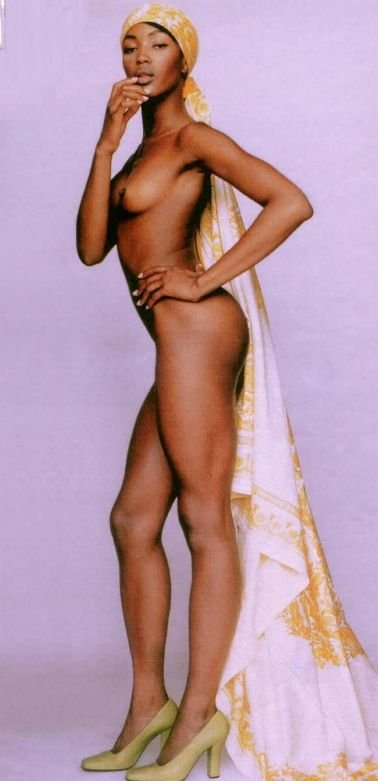 Naomi Campbell Naked 30
