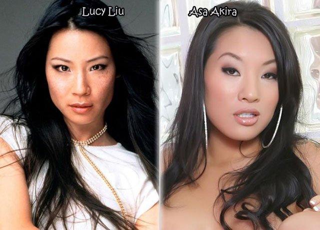 35.Lucy Liu Asa Akira